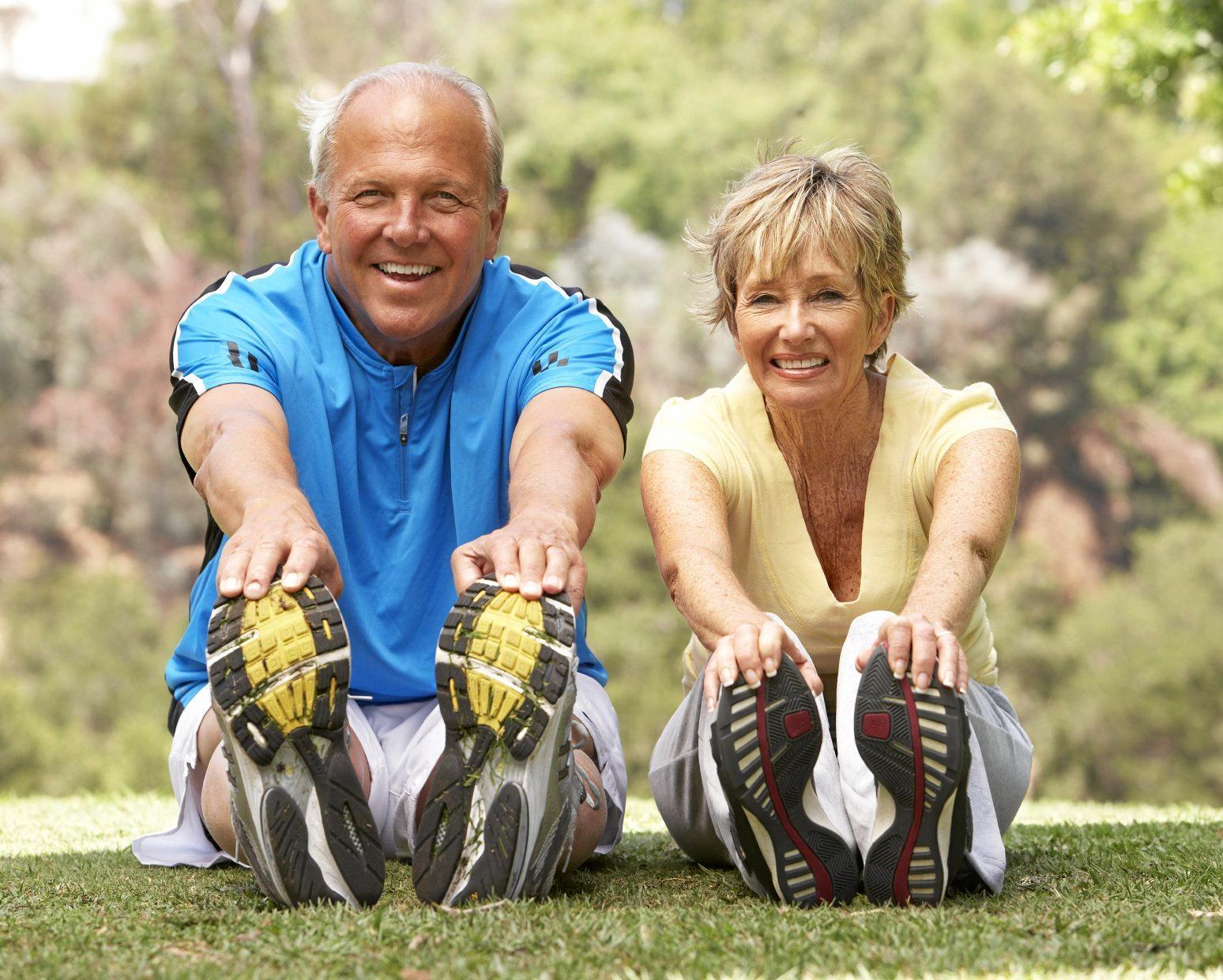 Regain flexibility with yoga classes.