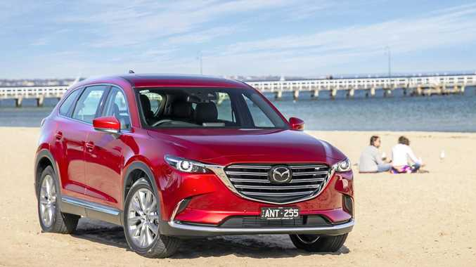 The Mazda CX-9 in range-topping Azami guise.