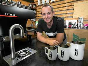 It's a grind of the right kind for coffee whiz