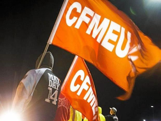 He stole from the CFMEU, then was busted in a stolen car.