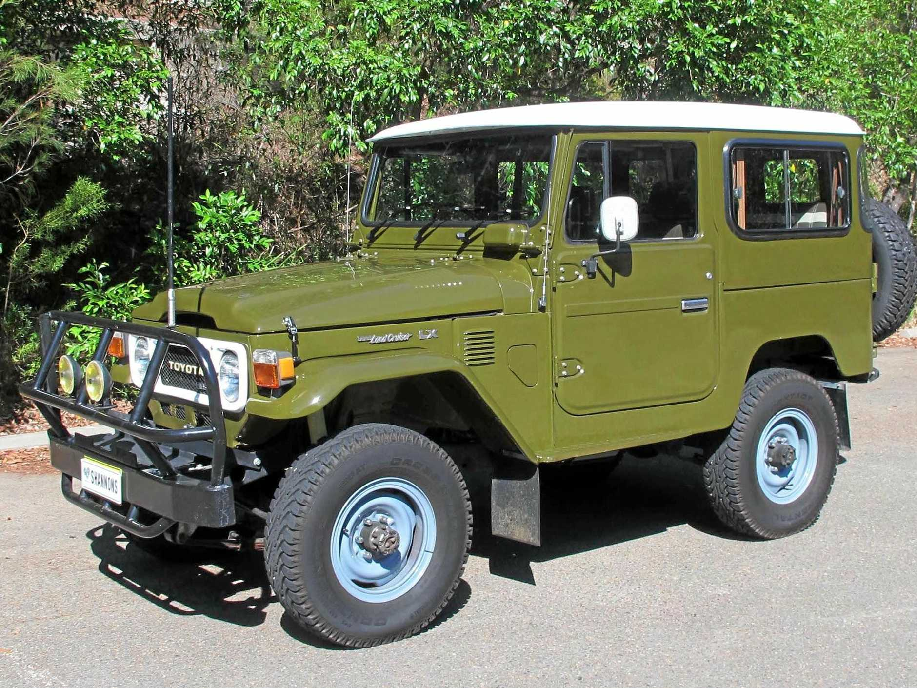 This restored 1983 Toyota BJ42 LX SWB LandCruiser diesel 4WD brought $45,000.