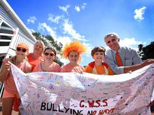 Schools stand united against bullies