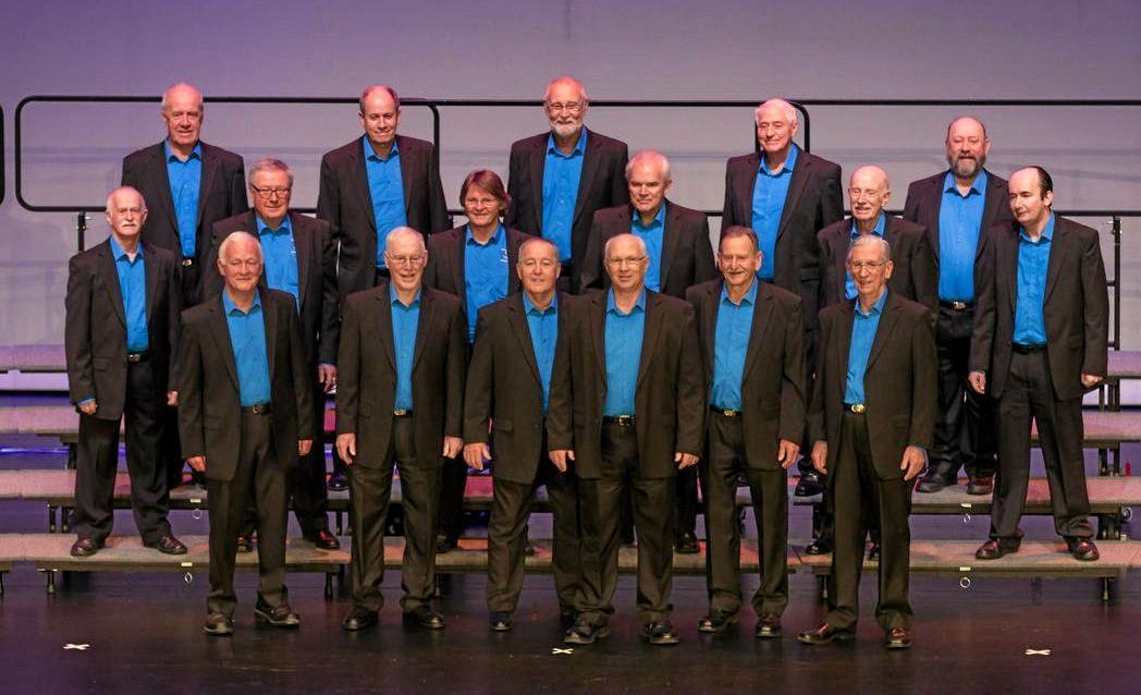 HARMONISING: Soundwaves Chorus, at their last barbershop convention in Sydney, are seeking new members.