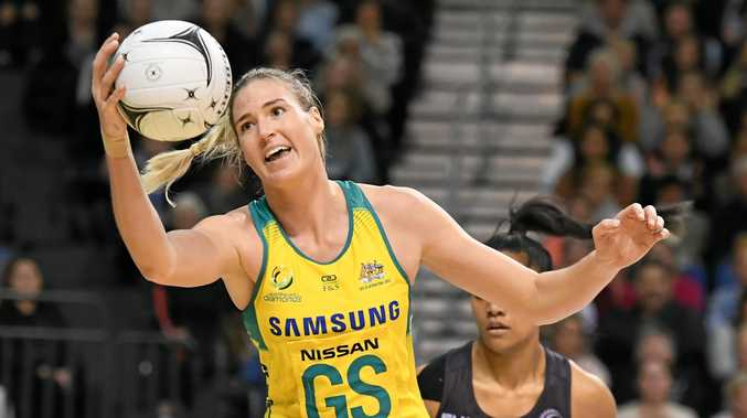 Captain Caitlin Bassett Bassett says the Diamonds are honoured to be the hunted following their January Quad Series domination.