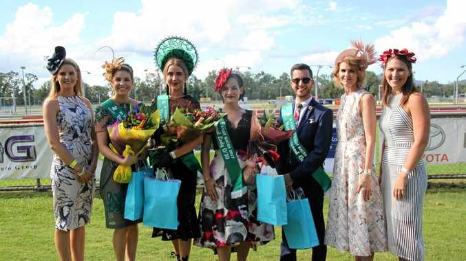 St Patrick's Day Fashions on the Field races line-up from last year.