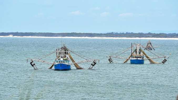 Trawler fishing boats.