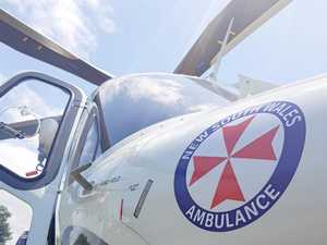 Urgent chopper transfer to Lismore after high-speed crash