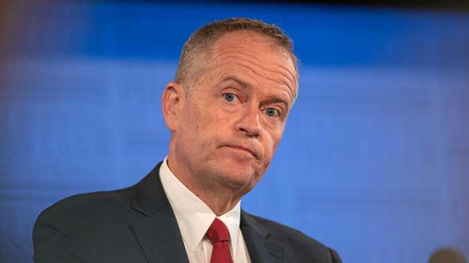 NOT MY POLICY PROBLEM: Federal Opposition Leader Bill Shorten