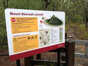 Fallen climber taken to hospital after Mt Beerwah incident