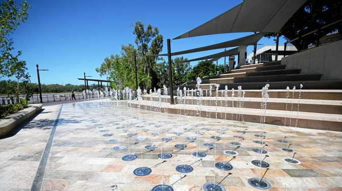 APPEALING TO THE EYE: Rockhampton's new riverside precinct brought the