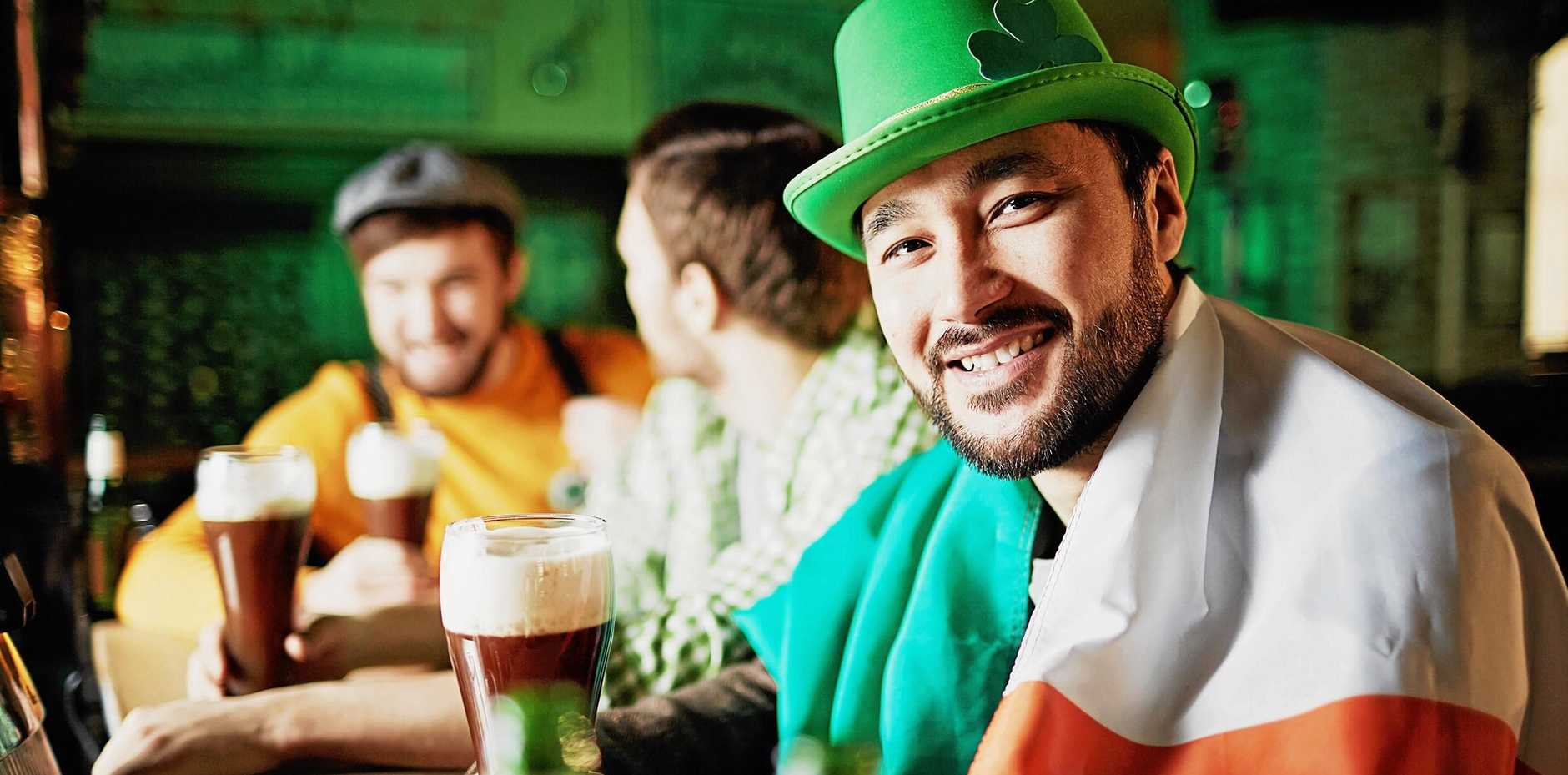 Saint Patrick's Day is celebrated today.