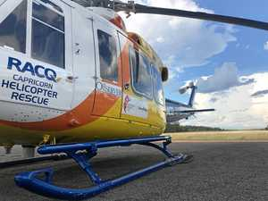 Toddler airlifted from CQ town with asthma attack