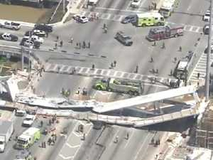 Several dead after bridge collapse