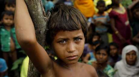 The Rohingya crisis could be a controversial talking point at the summit. Picture: AFP/K M Asad