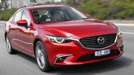 Daily driver: Mazda6.