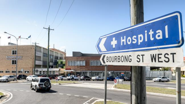 Bundaberg Base Hospital (Wide Bay Hospital and Health Service) wait times have worsened since decreases in funding.