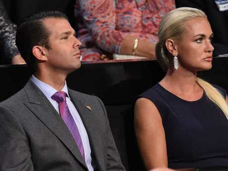 Vanessa Trump has filed for divorce from Donald Trump Jr. /Picture: AFP