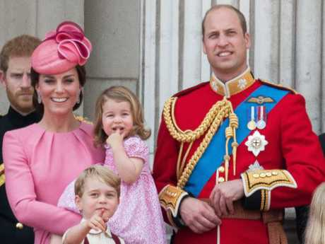 Prince George and Princess Charlotte will need the standing monarch's approval to marry. Picture: Supplied