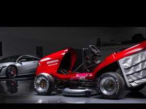 Plan to build a lawnmower faster than a Porsche 911