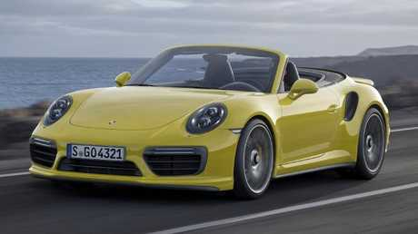 Dream car: Porsche 911 Cabriolet.