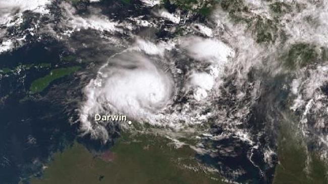 Cyclone Marcus is headed toward the Top End. Picture: BOM