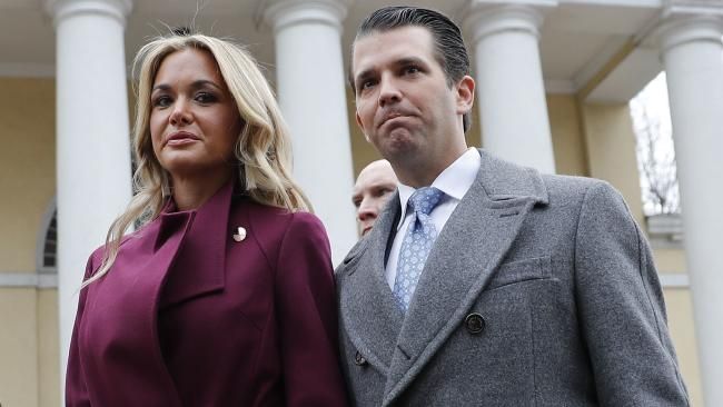 Vanessa Trump is seeking an uncontested divorce from the president's son. Picture: AP Photo/Pablo Martinez Monsivais