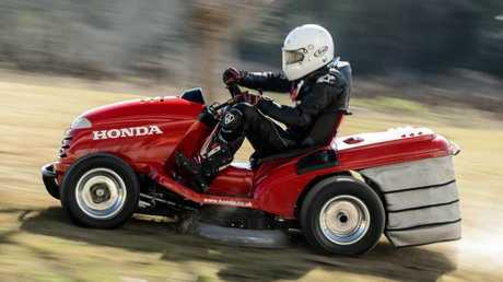 Record setter: Honda's previous 2014 Mean Mower. Pic Supplied.
