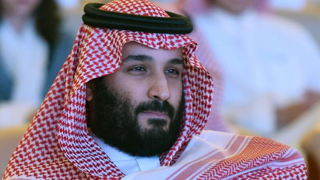 "Saudi Arabia's Crown Prince Mohammed bin Salman has said his country ""would"" develop nuclear weapons. Picture: AFP/Fayez Nureldine"