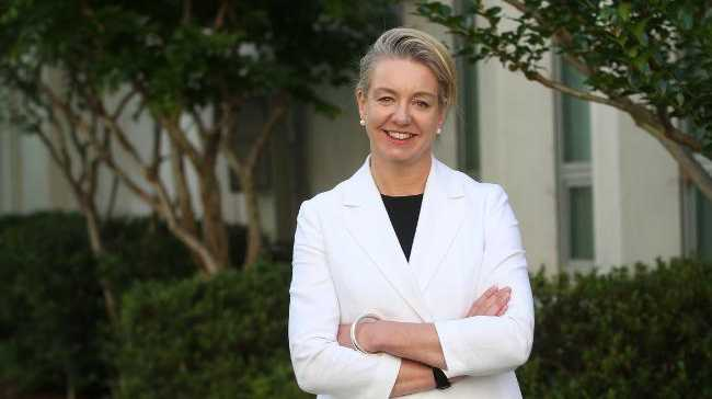 TALKING SPORT: Minister for Sport Bridget McKenzie spoke about rugby league in the North Burnett.