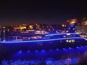 Luxury Megayacht
