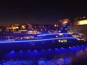 Luxury Megayacht