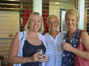 Debbie Gibson, Karen Turnbull and Barb Allen.