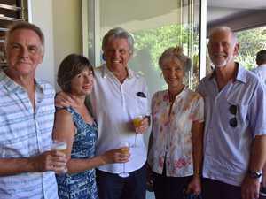 Brian Gibson, Pip and Rick Rickard and Victoria and