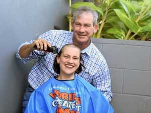 Gympie women shave to save - it's personal in Gympie tonight