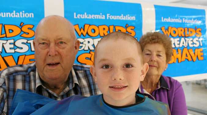 KID COURAGE: Thousands raised by ambitious Warwick 7-yo