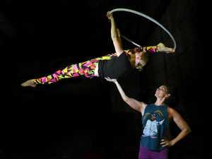 Ex-Cirque du Soliel performer mentors budding acrobats
