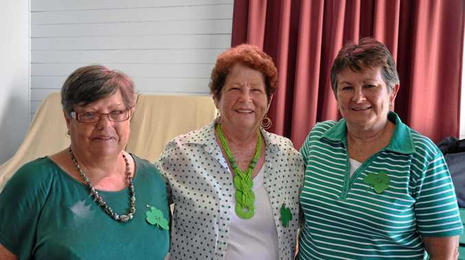 Monto Parish celebrates St Patrick's Day with a cent sale at St Therese's hall.