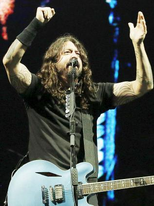 The Foo Fighters' Dave Grohl. Picture: MEGA