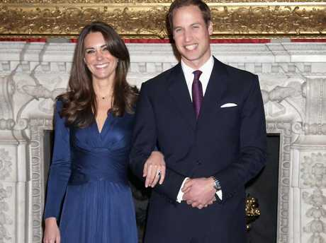 Prince William and Kate Middleton also refused to sign a pre-nup. Picture: Getty