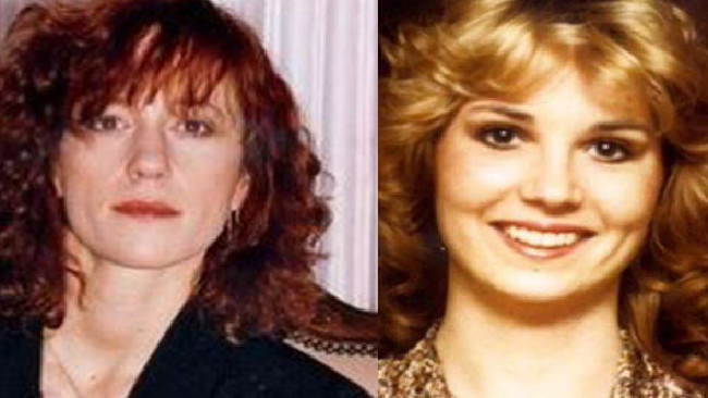 From right: Shelly Miscavige, the wife of Scientology supreme leader David Miscavige and Lisa McPherson. Picture: Supplied