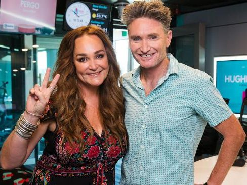 Dave Hughes and Kate Langbroek host the drive show on the Hit Network. Picture: Paul Jeffers