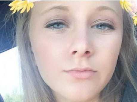 Snapchat image of Morgan, sister of Charleston church shooter Dylann.