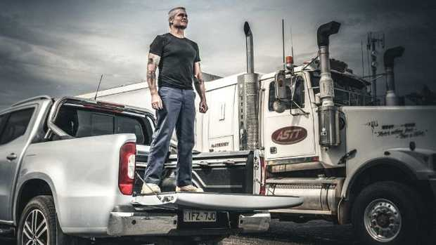 Punk rocker, actor and spoken word performer Henry Rollins has just completed a tour of remote Australia. Picture: Supplied.