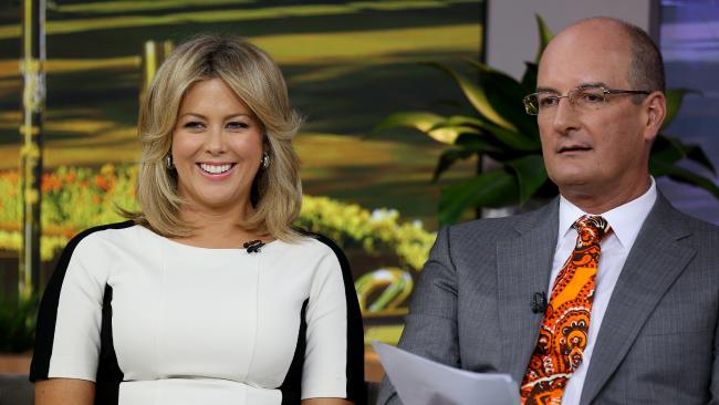 Sunrise co-hosts Samantha Armytage and David Koch.