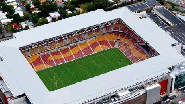 Lang Park, where Ed Sheeran will be playing his Brisbane shows. Picture: Suncorp Stadium