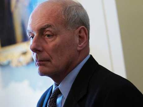 White House Chief of Staff John Kelly's days in the White House might be numbered Picture: AFP