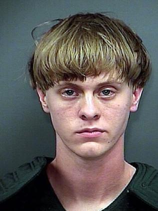 Arrest photo of Dylann.