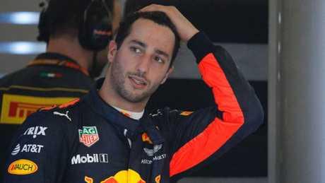 Red Bull's Australian driver Daniel Ricciardo