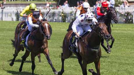 Sunlight enhanced her Golden Slipper claims with victory in the Magic Night Stakes. Picture: AAP