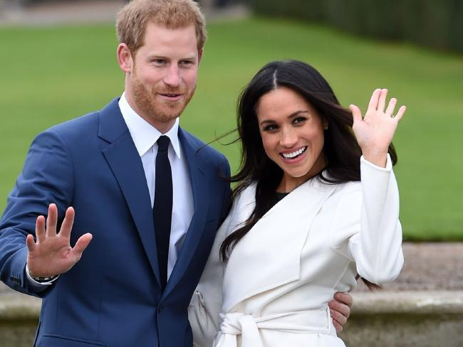 Prince Harry and Meghan Markle. Picture: AP